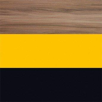 Nogal/amarelo/preto